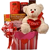 &quot;Be Mine&quot; Gourmet Food Gift Box (Small) - Valentine&#039;s Day Gift Basket Idea