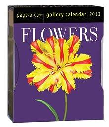Flowers 2013 Gallery Calendar (Page a Day Gallery Calendar)