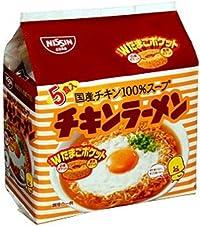 日清 チキンラーメン 5食パック(85g×5P)×6セット