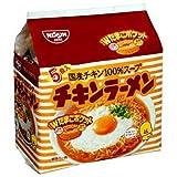 (お徳用ボックス)日清 チキンラーメン5食パック(85g×5P)*6セット