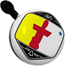 Bicycle Bell Nunavut Flag region Canada by NEONBLOND