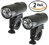 Best Headlight Value on Amazon: Bell Lumina 400 2x Pack - 5 LED, 150 Hour, No Tools Req, Better than iPulse - (2 Lights Per Order)