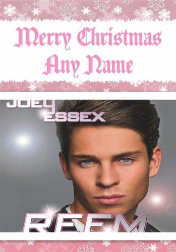 Joey Essex-Biglietto di Natale personalizzata