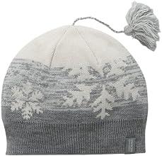 Icebreaker Chalet Hat - Metro Heather/Snow, One Size