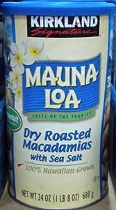 Kirkland Mauna Loa Roasted Macadamia Nut with Sea Salt, 24 Oz. from Mauna Loa