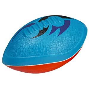 Nerf Turbo Jr Football, Blue/Red
