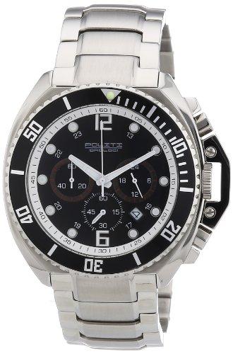 Chris Benz Men's Quartz Watch CB-D-ORANGE-MB with Metal Strap