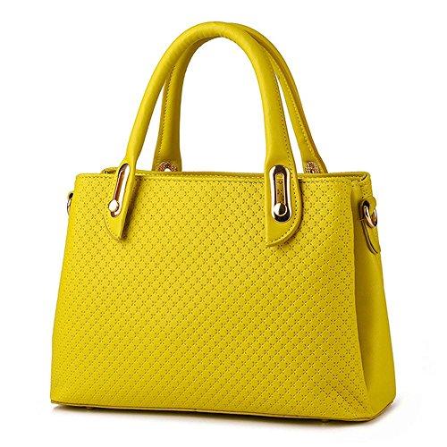 koson-man-damen-pu-leder-sling-reissverschluss-vintage-tote-taschen-top-griff-handtasche-gelb-gelb-k