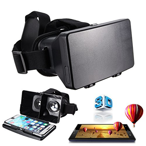 ELEGIANT Universal 3D Vr Virtual Reality Video Brille Glasses für iPhone Samsung...