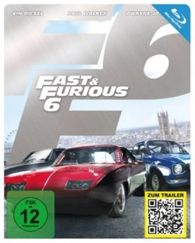 Fast & Furious 6 (Steelbook) [Blu-ray] [Limited Edition]