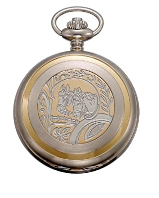 Click for Gotham Men's Two-Tone Swiss Quartz Date Movement Pocket Watch # GWC14047A-HS