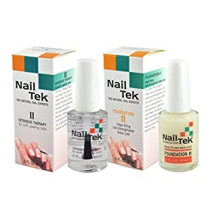 Nail Tek Intensitive Therapy II With Free Foundation II (Size.5x2)