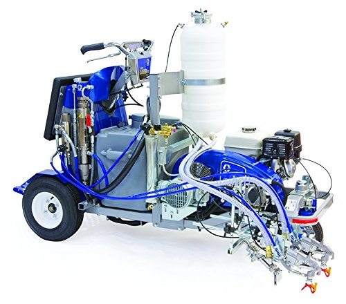 Graco LineLazer IV 250sps Self-Propelled Stand-On Paint Line Striper - w/ One Bead Tank - 16V473
