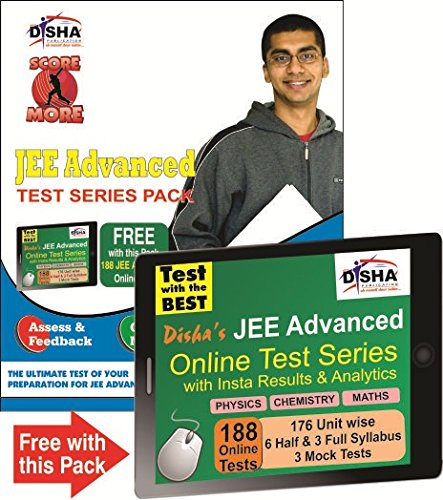 SCORE MORE - JEE ADVANCED TEST SERIES PACK (10 Mock Tests with Solutions) with 188 Online Tests of PCM worth Rs 999/-