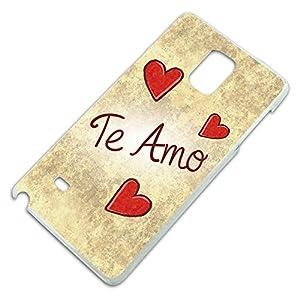 Amazon.com: Te Amo Handwritten Slim Fit Hard Case Fits ...