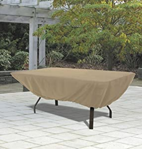 Amazon.com: Rectangular Table Outdoor Patio Furniture Cover: Patio ...