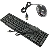 Terabyte TB-320S USB Wired Keyboard Mouse Combo Black