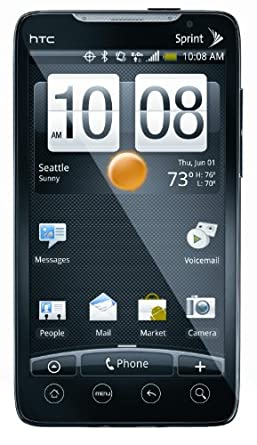 HTC EVO, Black (Sprint)