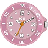 Ice-Clock 90 mm Travel Alarm Clock, Pink