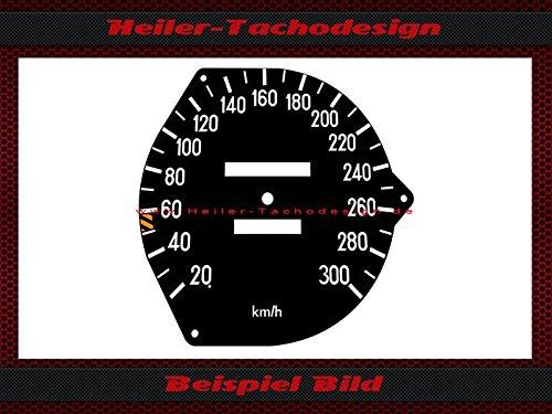 Tachoscheibe Mercedes SL W107 R107 W116 AMG Mechanischer - Tacho 300 kmh