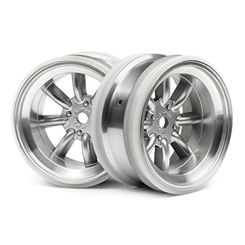 MX60 8-Spoke Wheel Matte Chrome (2) 6mm Offset - 1