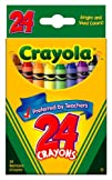 Crayola Crayons 24 Count  2 Packs