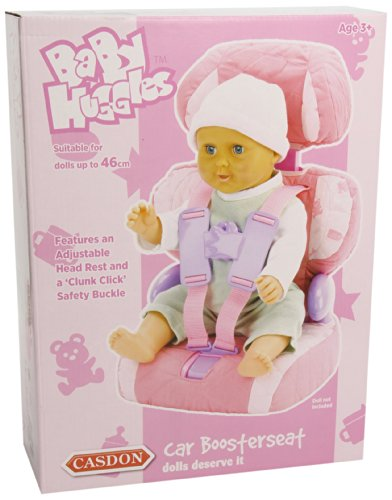 710 Baby Huggles Dolls Car Boosterseat 710 Pink 710 By Casdon
