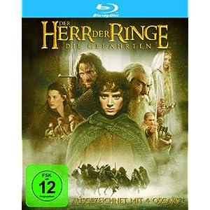 """Der Herr der Ringe (Blu-ray) """"Die Gefährten"""""""