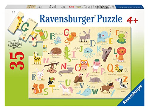 Ravensburger A-Z Animals Puzzle (35 Piece)