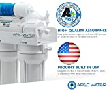 APEC Water Systems ROES-UV75 75 GPD UV Disinfecting 6-Stage Reverse Osmosis Drinking Water Filter System