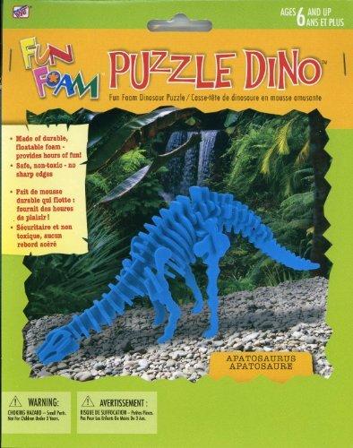 Apatosaurus Dinosaur Foam 3-D Puzzle - 1