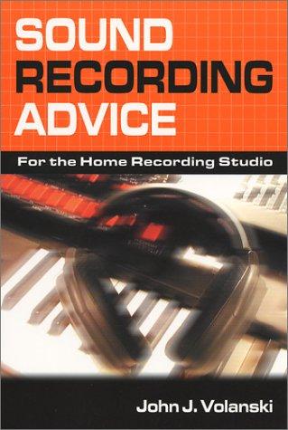 Sound Recording Advice
