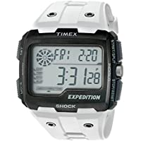 Timex Grid Shock Chronograph Men's Watch (White)