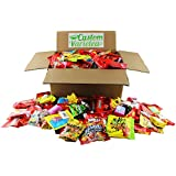 Trick Or Treat Halloween Candy Variety Pack Candy Mixed Assortment Includes Nerds, Sour Patch, Skittles, Starburst, Twizzlers, Swedish Fish, Mike and Ike, Haribo & Many More!! Includes Our Exclusive Custom Varietea Mints Bulk Sampler of 96 Oz