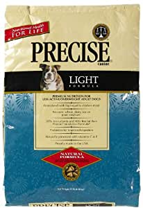 Precise 726023 Canine Light Food Dry Food for Pets, 15-Pound