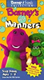 Barneys Best Manners [VHS]