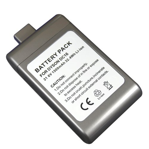 Epowerengine® High Capacity Li-Ion Rechargeable Battery Pack For Dyson Dc16 Root 6 Vacuum Cleaner, Animal, Issey Miyake, Compatible With Dc-16 Part #12097, 912433-01, 912433-03, 912433-04, Bp01. front-361286