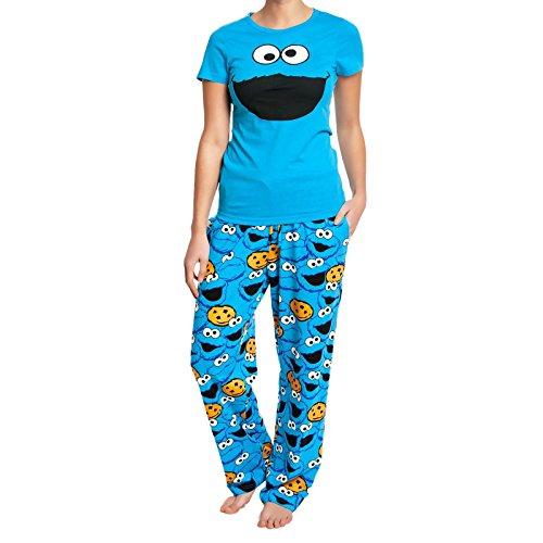 sesamstrasse-krumelmonster-pyjama-cookie-monster-schlafanzug-erwachsene-baumwolleolle-lizenziert-zur