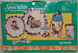 Snow White & 7 Dwarfs Dinner Ware Set. 7 Piece.