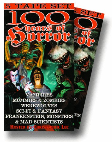 100 Years of Horror [VHS] [Import]