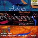 Adams : Harmonium - Rachmaninov : Les Cloches