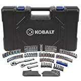 Kobalt 129-Piece Standard/Metric Mechanics Tool Set with Case 85180