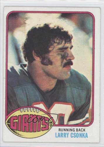 Larry Csonka New York Giants FB (Football Card) 1976 Topps #437 at Amazon.com