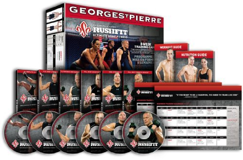 Sale!! Rushfit Georges St-Pierre 8 Week Ultimate Home Training Program
