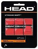 HEAD(ヘッド) テニス オーバーグリップ エクストリ-ムソフト (3 本入り ) レッド 285104
