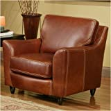 Great Texas Leather Chair Color: Dream - Wine, Cushion Fill: Add Down to Seat Cushions, Finish: Espresso at Sears.com