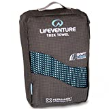 Lifeventure Soft Fibre Medium Trek Towel - Blue