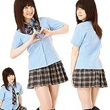 AKB48 衣装AKIBAコスプレ隊ブルー-コスプレ・コスチューム/az0071