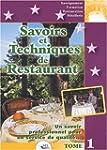 Savoirs et techniques de Restaurant :...