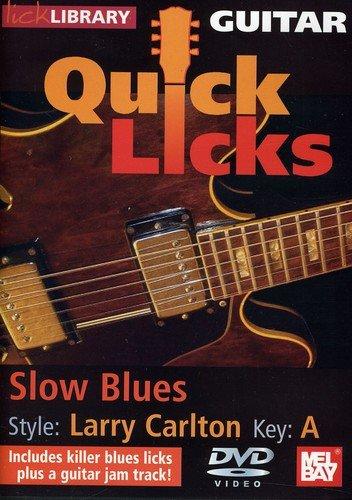 Stuart Bull - Quick Licks: Larry Carlton Slow Blues - Key: a (DVD)